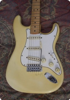 Fender Stratocaster 1972 White Blonde