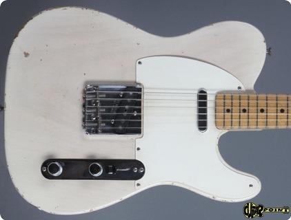 Fender Telecaster 1958 Blond    1 Piece Body !