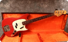 Fender Mustang Bass 1966 Dakota Red