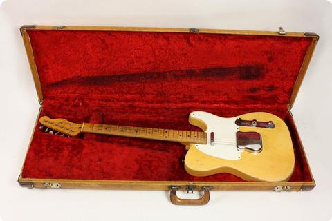 Fender 1955 Vintage Original 1955 Telecaster W/ohsc Very Good  1955