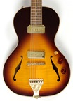 BG Guitars Little Sister Crossroads 2017 Tobacco Burst