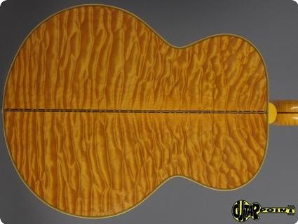 Gibson Sj 200 Montana Gold  2001 Quilt   Custom Built