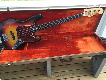 Fender Jazz Bass 1963 Sunburst
