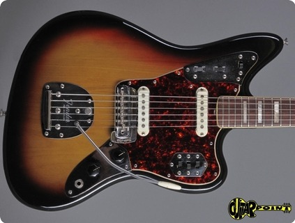 Fender Jaguar 1973 3 Tone Sunburst