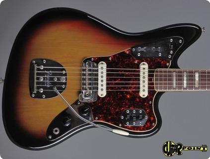 Fender Jaguar 1973 3 Tone Sunburst