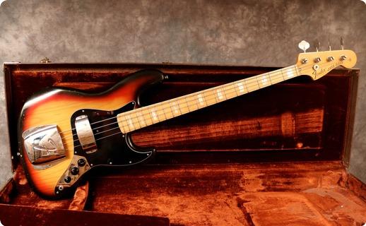 Fender Jazz 1975 Sunburst