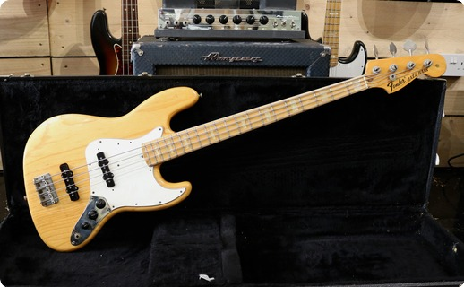 Fender Jazz 1974 Natural