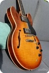 Gibson ES 335 Faded Cherry Burst Flame 2003
