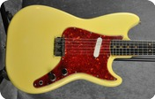 Fender Musicmaster with CITES Certificate 1963 Olympic White nitro