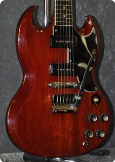 Gibson Sg Special (with Cites Certificate) 1963 Cherry Red