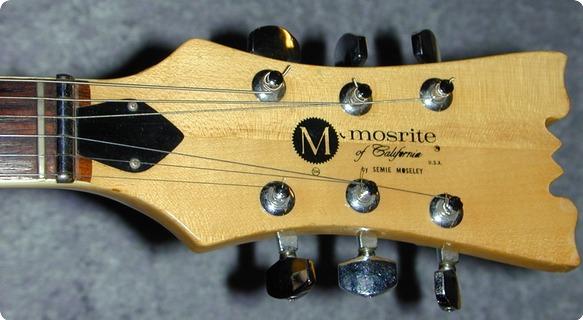 Mosrite Bluesbender 500v Ii. Very Rare! 1974 Black.