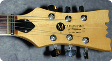 Mosrite Bluesbender 500V II. Very Rare 1978 Black