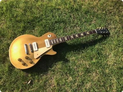 gibson les paul standard 1956 goldtop guitar for sale denmark street guitars. Black Bedroom Furniture Sets. Home Design Ideas