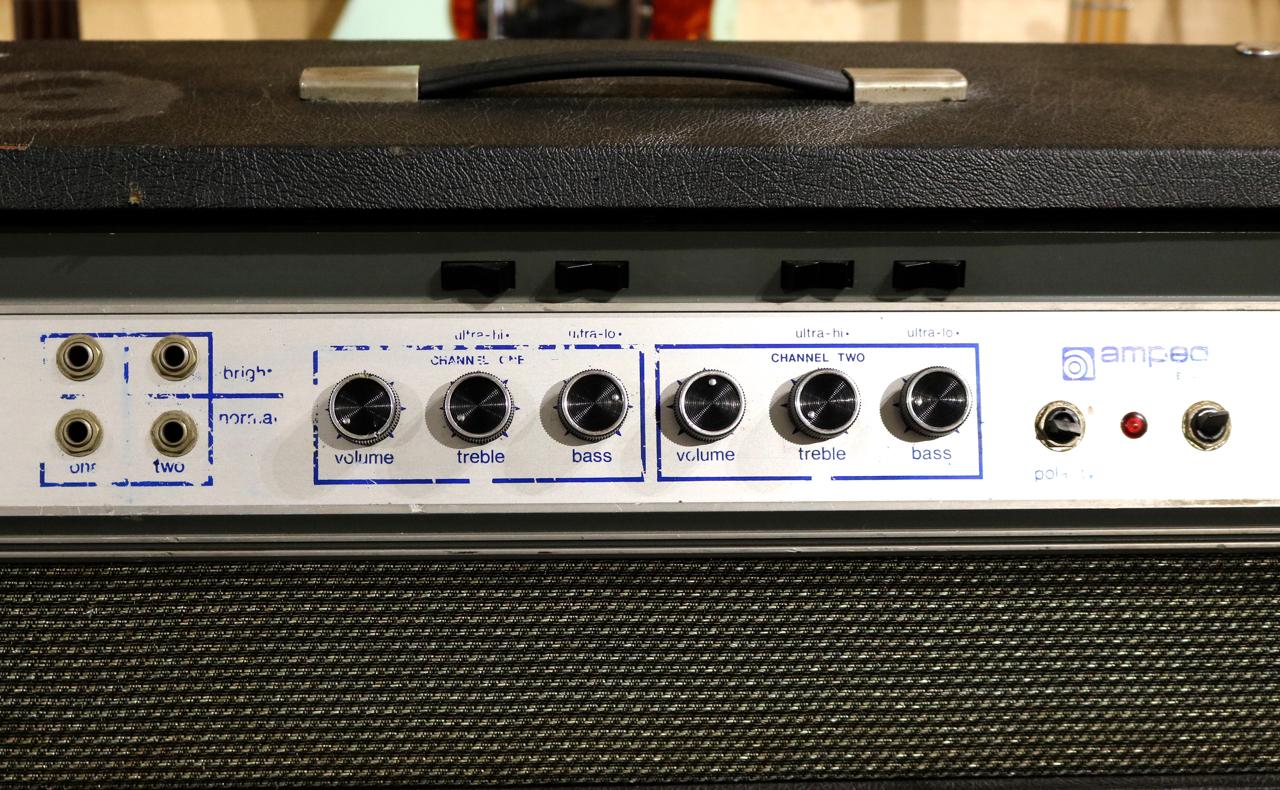 Ampeg B25 1969 Black Tolex Amp For Sale Andy Baxter Bass & Guitars Ltd