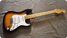 Fender Custom Shop Relic 1956 Stratocaster 2004 Two Tone Sunburst
