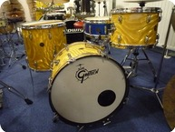 Gretsch Round Badge 1960 Yellow Satin Flame