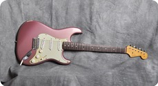 Fender Custom Shop Relic 1960 Stratocaster 2002 Burgundy Mist