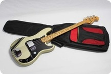 Greco Precision Bass 1978 Custom Colour GoldSilver Sparkle
