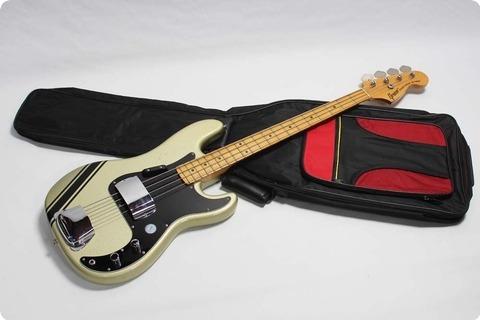Greco Precision Bass 1978 Custom Colour Gold/silver Sparkle