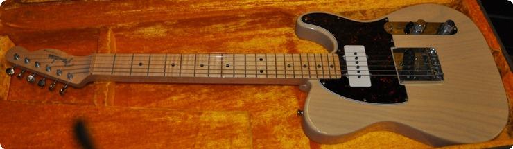 Fender Telecaster Lapsteel 1 Of 4.prototype? 1995 Blonde  Nitrocellulose