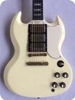 Gibson 61 Les PaulSG CustomHistoric Reissue 2004 Polaris White