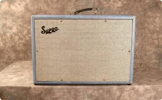 Supro Model 24 1964 Blue Tolex