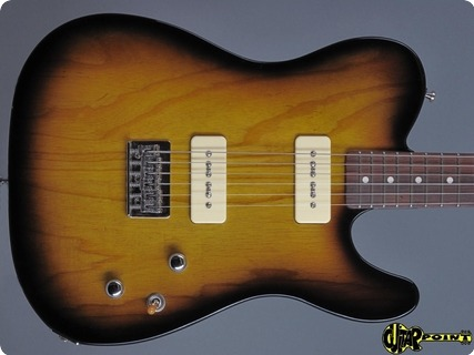 Tommys Special Guitars T Style P 90 2017 2 Tone Sunburst