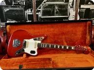 Fender Jaguar 1968 Candy Apple Red