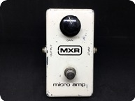 Mxr Micro Amp White