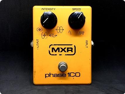 Mxr Phase 100 Vintage 1978 Orange