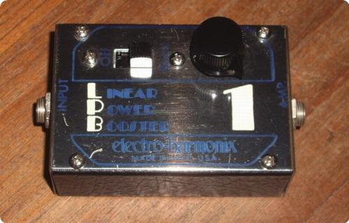Electro Harmonix Lpb 1 Linear Power Booster 1970 Metal Box