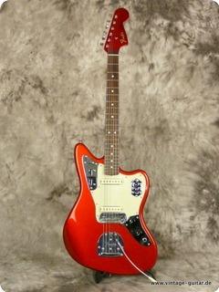 Fender Jaguar 62 Reissue 2008 Candy Apple Red