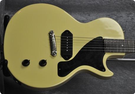 Gibson Les Paul Tv Junior 3/4.cites Certificate. 1957 Tv Yellow Nitro Refin