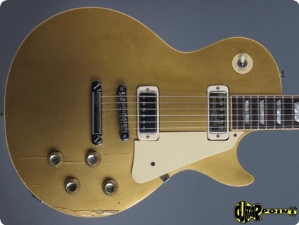 Gibson Les Paul Deluxe 1976 Goldtop (gold Metallic)