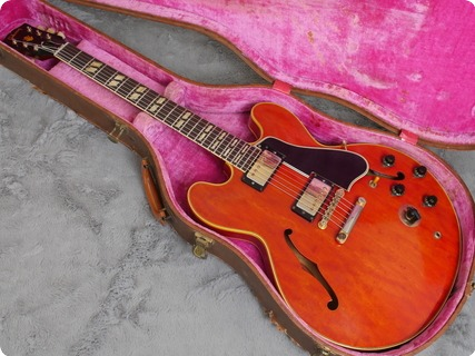 Gibson Es 345 Tdc Sv 1960 Cherry Red