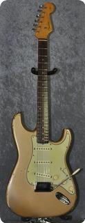 Fender Stratocaster Shoreline Gold, Cites Certificate 1962 Shoreline Gold