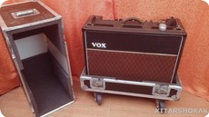 Vox AC 30 TOP BOOST VINTAGE 60S TUBE RECTIFIER HANDWIRED PTP FLIGHT CASE 1969