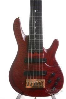 Yamaha John Patitucci 6 String Signature Bass Trans Dark Red 2007