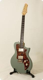 Kauer Guitars Titan Kr1 2017 Verde Chiaro