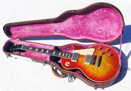 Gibson Les Paul Standard 1960 Sunburst Korina