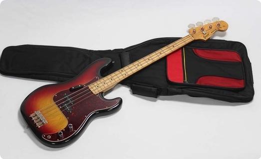 Greco Precision Bass Pb 600 1977 Sunburst