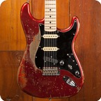 Fender Stratocaster 2017 Candy Apple Red
