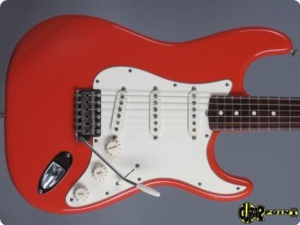 Fender American Vintage ´62 Fullerton Stratocaster 1982 Fiesta Red