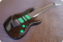 Ibanez UV7 STEVE VAI 7strings 1995 BlackNeon