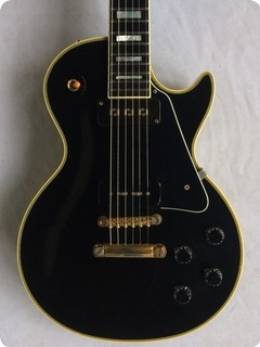 Gibson '54 Reissue Les Paul Custom Black Beauty 1999 Ebony