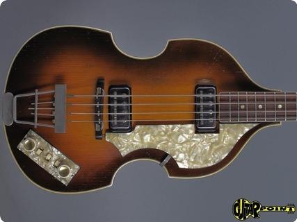 Höfner / Hofner 500/1 Beatles Bass 1964 Sunburst