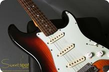 Fender Masterbuilt Custom Shop Stratocaster 20th Anniversary Steven Stern 2007 3 Tone Sunburst