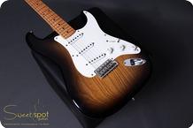 Fender Masterbuilt Customshop 50th Anniversary Stratocaster DENNIS GALUSZKA 2004 2 Tone Sunburst