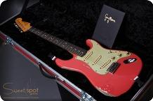 Fender Masterbuilt Customshop Gary Moore Tribute Stratocaster By John Cruz 2016 Fiesta Red