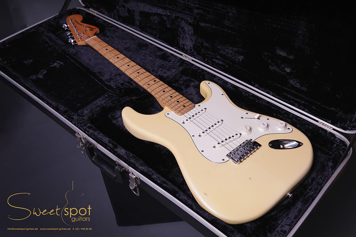 Fender Stratocaster 1973 Vintage White